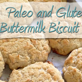 Paleo and Gluten Free Buttermilk Biscuit