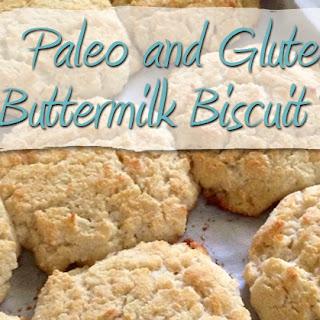Paleo and Gluten Free Buttermilk Biscuit