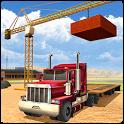 Heavy Excavator Cranes: Sand Truck Driving Game icon