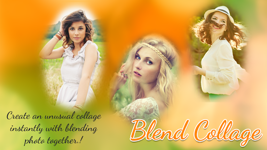 Blend Collage photo - náhled
