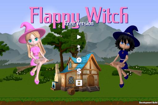 Flappy Witch Free