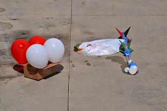 Photo: Egg Drop Contest