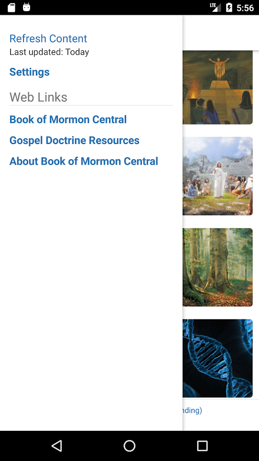 KnoWhy by Book of Mormon Central- screenshot