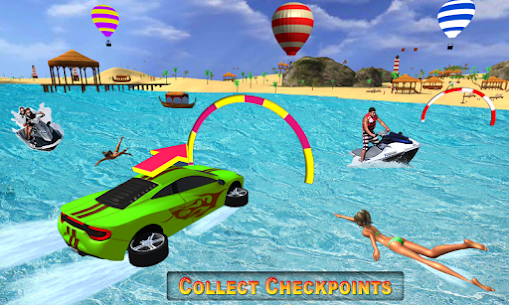 Water Car 2020 – New Water Surfer Games 1