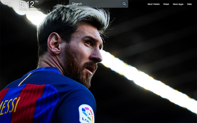 Lionel Messi Wallpapers Theme New Tab