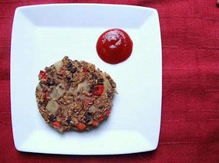 Vegan Black Bean Veggie Burgers Recipe