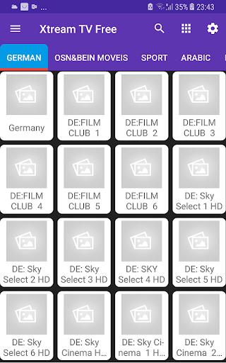Extream TV Free screenshot 1