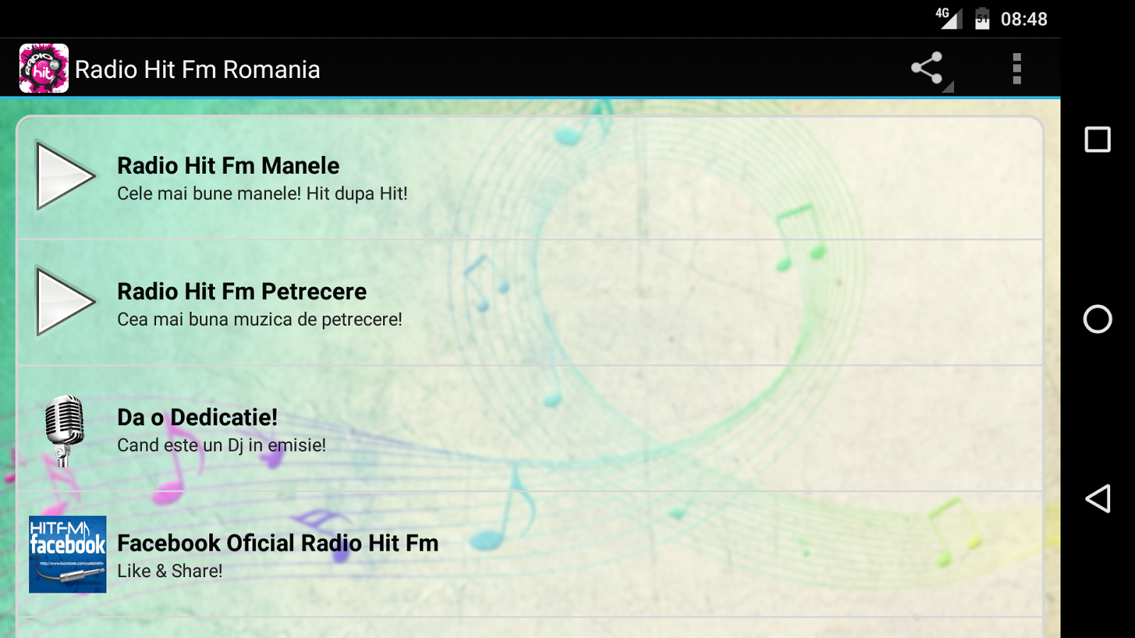 Radio Hit Fm Manele Romania- screenshot