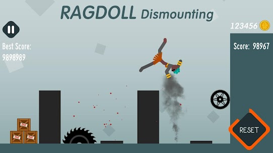 Ragdoll Dismounting Apk + MOD (Coins/Unlocked) for Android 4