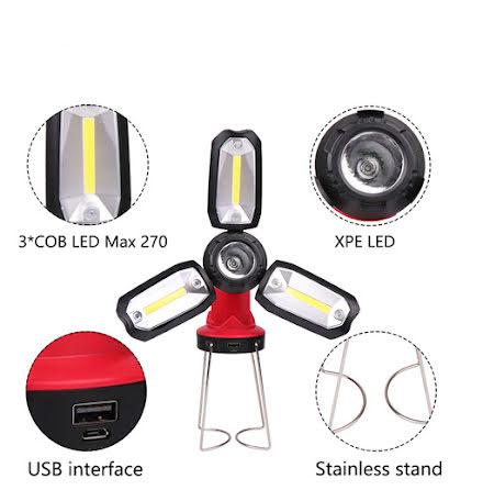 Praktiskt Multifunktionell Arbetslampa