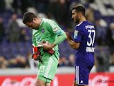 Frank Boeckx parle d'un manque de chance pour justifier la défaite d'Anderlecht