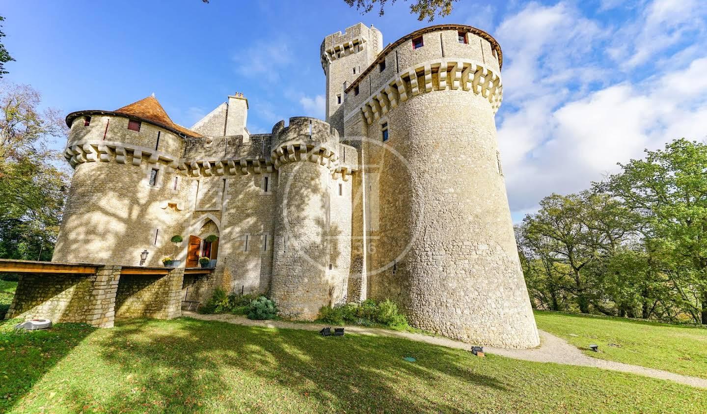 Castle Fontgombault