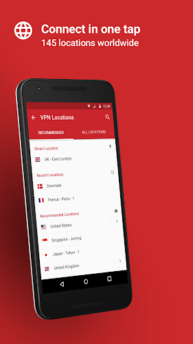 ExpressVPN - Best Android VPN Android App Screenshot