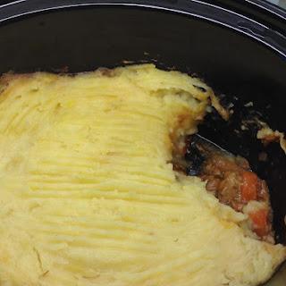 Shepherd's pie | Slow cooker