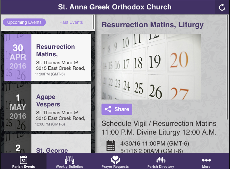 St. Anna Greek Orthodox Church- screenshot