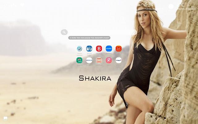 Shakira Wallpapers HD New Tab