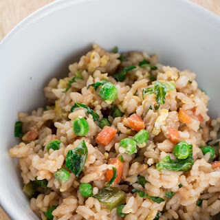 Chinese Fried Rice With Lettuce