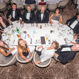 Cruise Family Dinner by Lee Davenport - People Family (  )