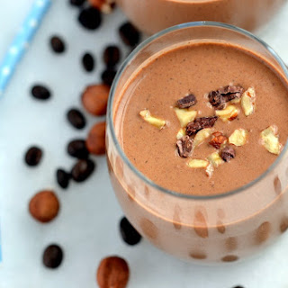 Healthy Mocha-Hazelnut Shake