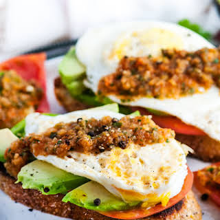 Healthy Breakfast With Eggs And Toast Recipes.