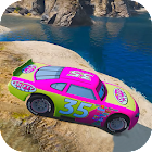 Superheroes Canyon Stunts Racing Cars icon