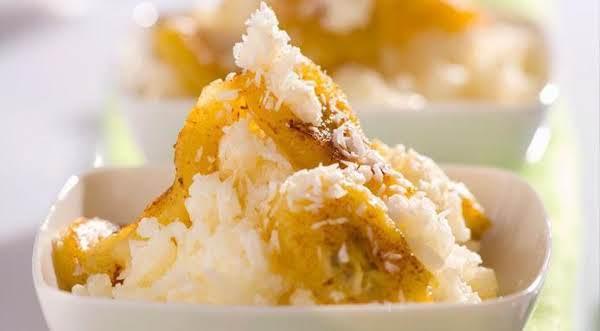 Rice W/fried Bananas (sallye) Recipe
