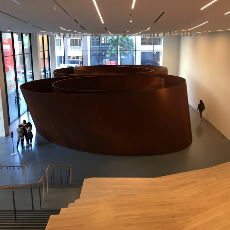 """Sequence"" by Richard Serra"