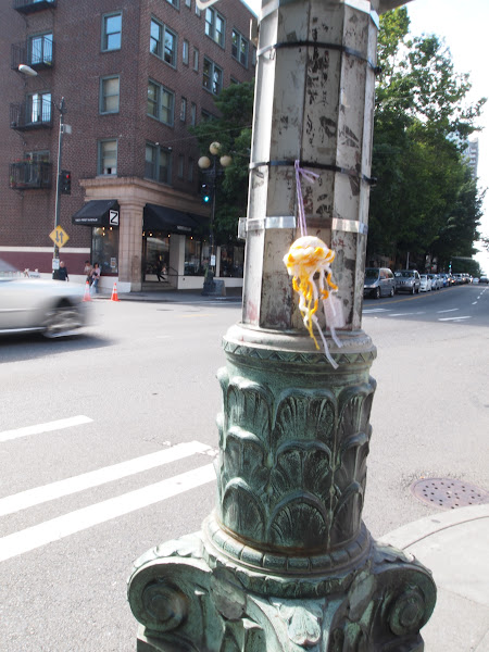 Photo: After breakfast, I said farewell to her and left her in Seattle near 1st & Virginia.