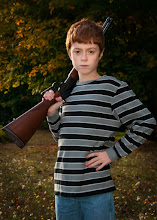 Photo: ...when you pry it from my cold dead hand  Alright JP here's another on the right day ;)  This is my son giving me his best serious face. It's not one that comes that easy for him as he normally has a huge smile on his face 99.72% of the day.  #firearmsfriday  - +Jonathon Pruessner