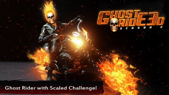 Ghost Ride 3D Season 2 1.6 MOD (Unlimited Money) 3