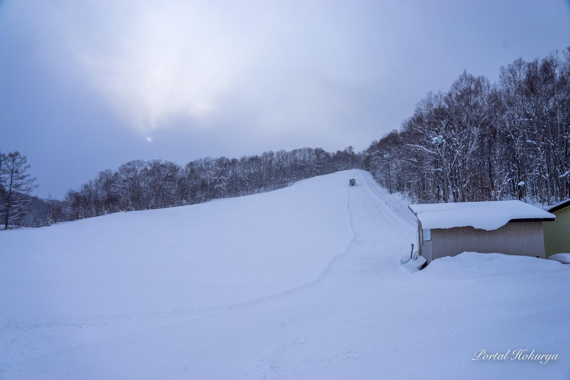 北竜町営スキー場・今季オープン!
