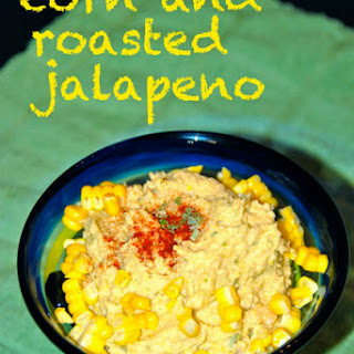 Corn and Roasted Jalapeno Hummus