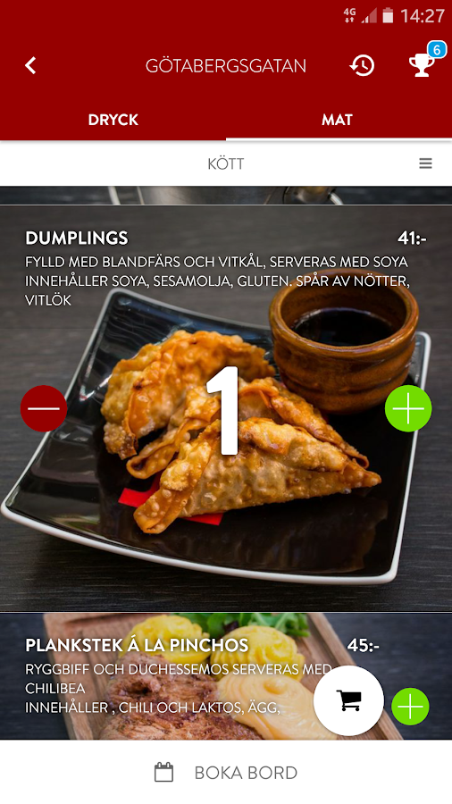 Pinchos - The app restaurant- screenshot