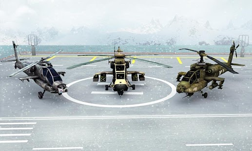 Modern Copter Warship Battle Android apk