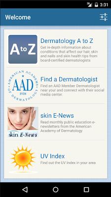 Dermatology A-Z - screenshot