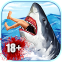 Shark Simulator (18+) icon