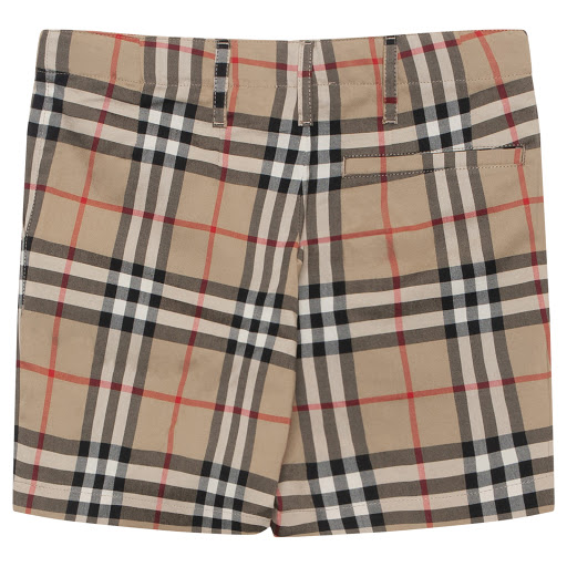 Thumbnail images of Burberry Boys Checked Shorts