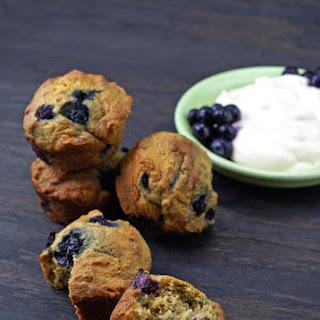 Blueberry Yogurt Muffins.