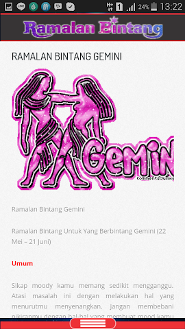android Ramalan Bintang & Jodoh Screenshot 3