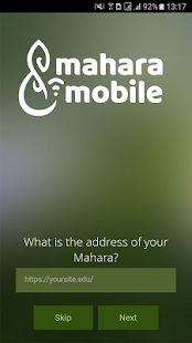 Mahara Mobile- screenshot thumbnail