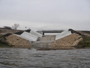 Photo: Odnowiony kanał powodziowy