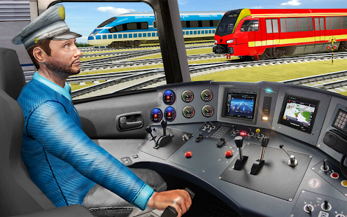 Indian Train Pro Driving Sim - City Train Game - náhled