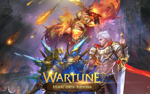 Wartune: Hall of Heroes  captures d'u00e9cran 1