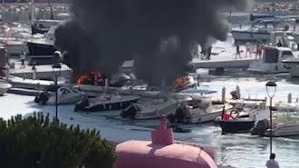 Imagen del vídeo que circula por redes y mensajería instantánea.