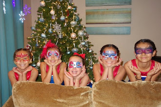 Photo: Charter Oaks Gymnastics Gliders Team face painted by Memorable Event Ent. Call to Book Tess at 888-750-7024