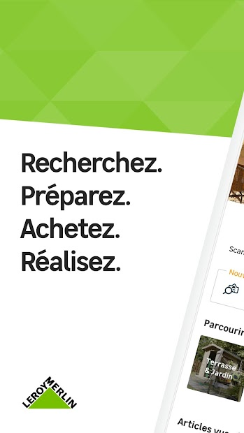 Leroy Merlin - rêver & réaliser Android App Screenshot