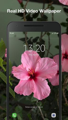 Beautiful Flowers Live Wallpaper Screenshot 5