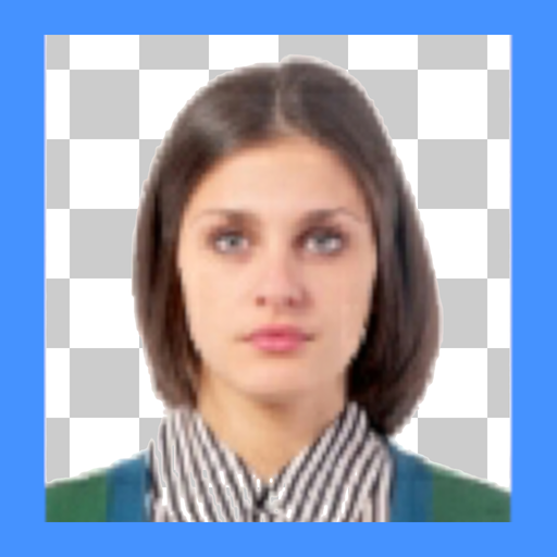 ID photo background editor Icon