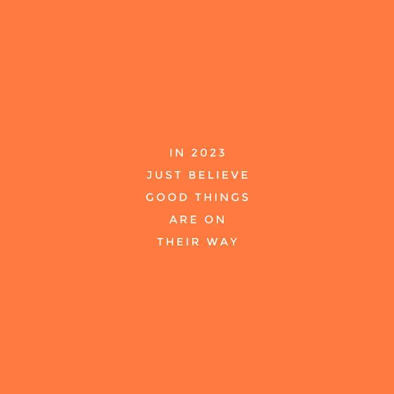 Believe Good Things - Instagram Post Template