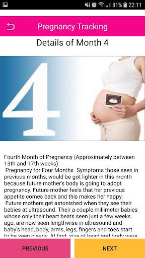 Pregnancy Tracker 1.4.6 screenshots 4